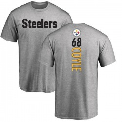 Men's Anthony Coyle Pittsburgh Steelers Backer T-Shirt - Ash