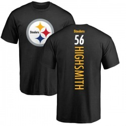 Youth Alex Highsmith Pittsburgh Steelers Backer T-Shirt - Black